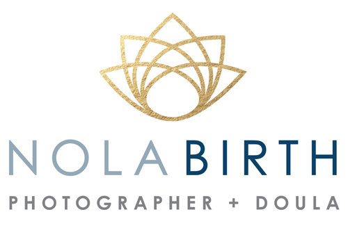 NOLA Birth Photographer logo